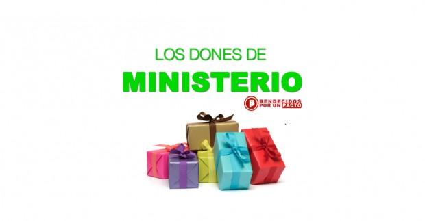 los dones de ministerio